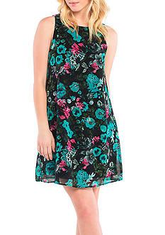 Kensie Wild Garden Floral Dress
