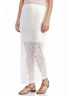 Kensie Lace Maxi Skirt