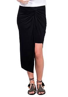 Kensie Asymmetrical Knot Skirt