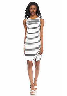 Kensie Striped Knit Dress