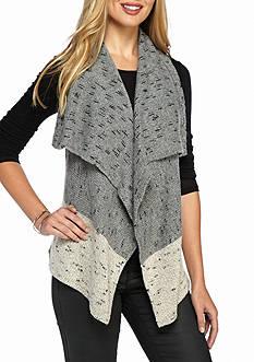 Kensie Wrapped Yarn Vest