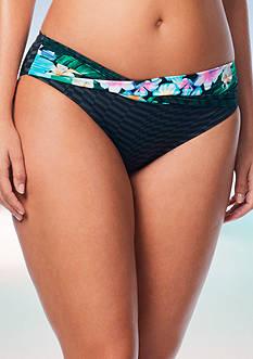 Coco Reef Tropical Escape Banded Swim Bottom