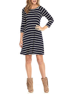New Directions Stripe Dress