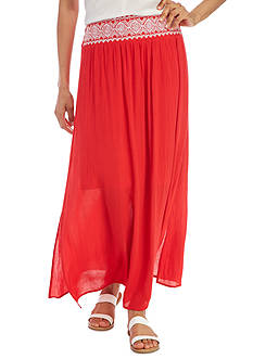 New Directions® Embellished Maxi Skirt