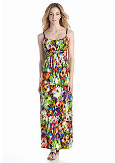 New Directions® Ruched Maxi Dress