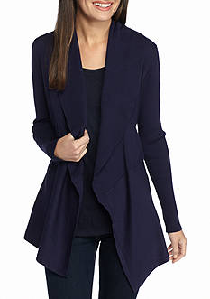 New Directions Shawl Collar Cardigan