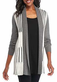New Directions Pleated Cardigan