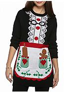 New Directions® Petite Size Mrs. Claus Tunic