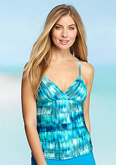Kenneth Cole Chasing Waterfalls Adjustable Tankini