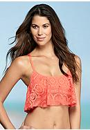 Kenneth Cole Reaction Suns Out Crop Bra Top