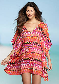 Kenneth Cole Reaction Beyond The Sea Coverup Tunic
