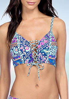 Kenneth Cole Reaction Bohemian Spirit Midkini Swim Top