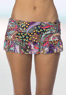 Kenneth Cole Reaction Gypsy Gem Skirted Swim Bottoms