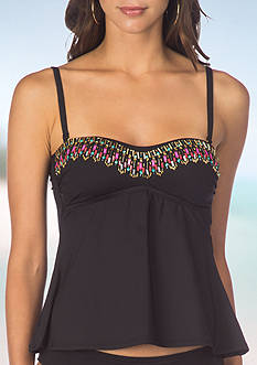 Kenneth Cole Reaction Sea Gypsy Bandeaukini Swim Top