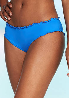 Kenneth Cole Reaction Frill Of It Cheeky Swim Bottom