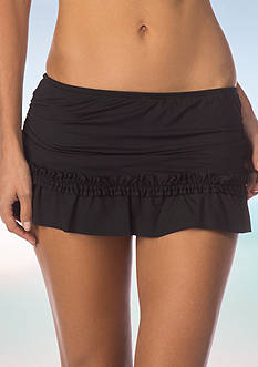 Kenneth Cole Reaction Frill Of It Skirt Swim Bottom