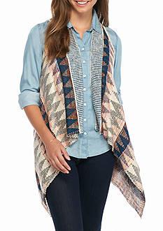 Jolt Aztec Printed Vest