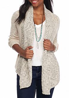 Jolt Crochet Back Cardigan