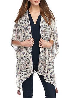 Jolt Tassel Kimono
