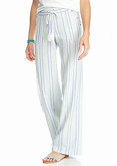 Jolt Striped Linen Soft Pants