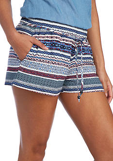 BeBop Printed Self Tie Soft Shorts