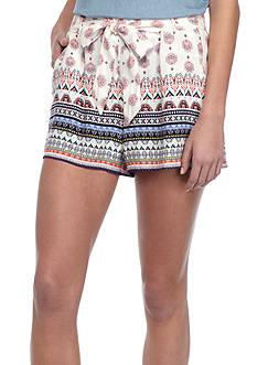 BeBop Border Print With Soft Shorts and Sash