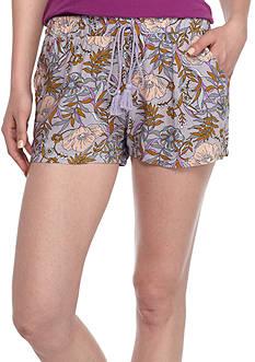 BeBop Floral Rayon Challis Shorts