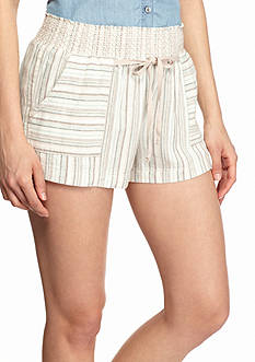 BeBop Multi Color Stripe Shorts