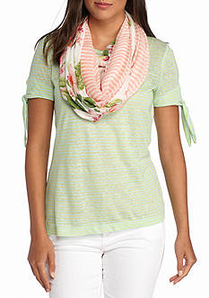 Tommy Bahama LeTigre Orchid Infinity Scarf