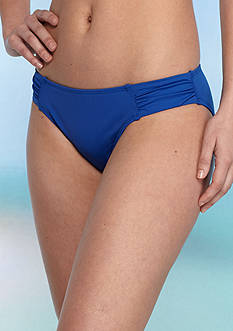 Tommy Bahama Pearl Side Shirred Hipster Swim Bottom