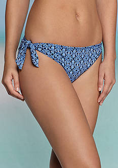 Tommy Bahama® Stamped Medallion Reversible Hipster Swim Bottoms