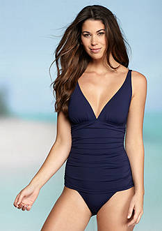 Tommy Bahama Pearl V Neck One Piece