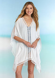 Tommy Bahama Lace Trim Tunic Cover Up