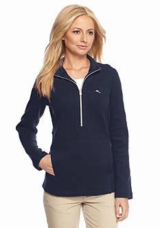 Tommy Bahama Aruba Angle Pocket Half Zip Pullover