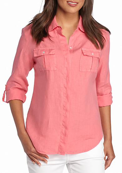 Tommy Bahama® Two Palms Linen Shirt