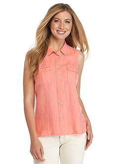 Tommy Bahama Two Palms Sleeveless Camp Shirt