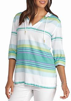 Tommy Bahama Sunset Stripe Tunic