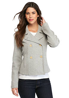 Tommy Bahama Knit Peacoat Jacket