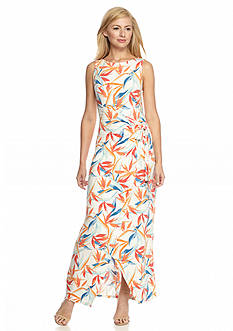Tommy Bahama® Palms Of Paradise Wrap Front Maxi Dress