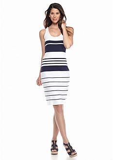 Tommy Bahama Pickford Striped Midi Dress