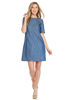 Tommy Bahama Chambray Shift Dress