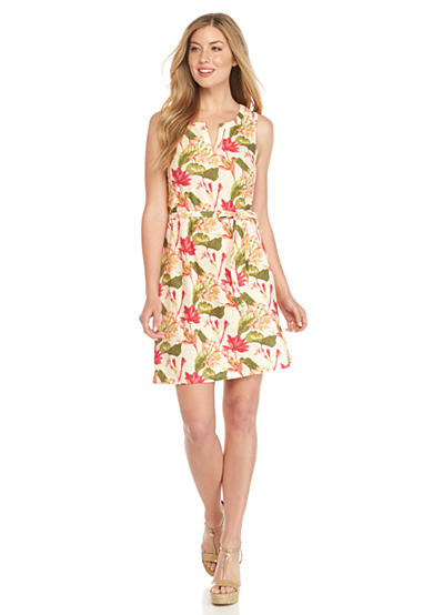 Tommy Bahama® Tropical Lillies Short Dress