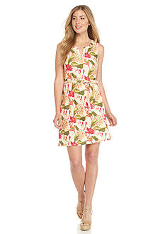 Tommy Bahama Tropical Lillies Short Dress