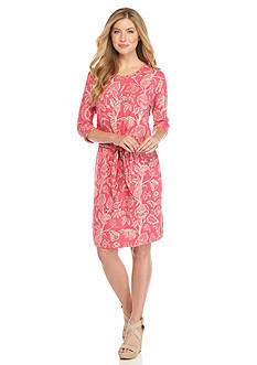 Tommy Bahama Apothecary Blooms Tie Dress