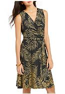 Tommy Bahama® Fronds Falling Short Wrap Dress