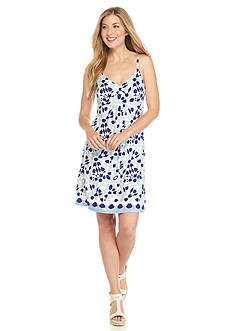 Tommy Bahama Border Tiles Short Knit Dress