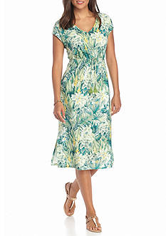 Tommy Bahama Botanoco Jungle Short Dress