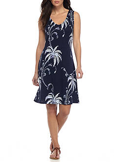 Tommy Bahama® Palm Tree Tropics Short Dress