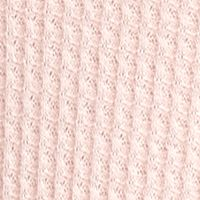 Knit Tops For Juniors: Blush Eyeshadow Sleeveless Waffle Cowl Neck Tank