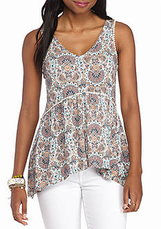 Eyeshadow Printed Tank